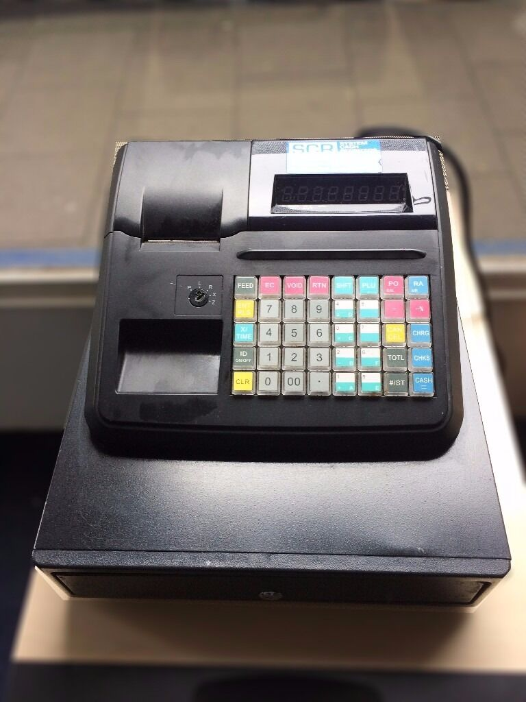 CASH REGISTER - Geller AX-100 in Good Condition (Till)
