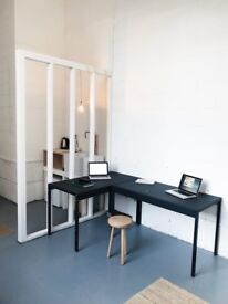 - DESK SPACE TO RENT -
