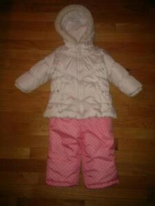 NEW price Girl's 18 month Carter's snowsuit