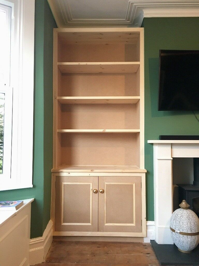 Made to measure wardrobes, book shelves, alcove shelving ...