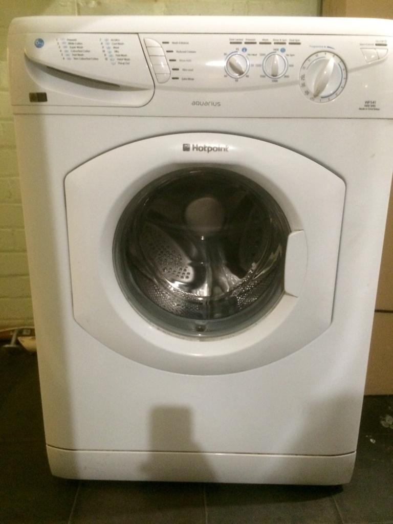 Hotpoint Washing Machine Spares free washing machine (spares/repair): hotpoint aquarius wf541 (6kg