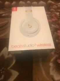 Beats Studio 3 Brand New Sealed In Box Noise Cancellation Not Bose or Solo 3