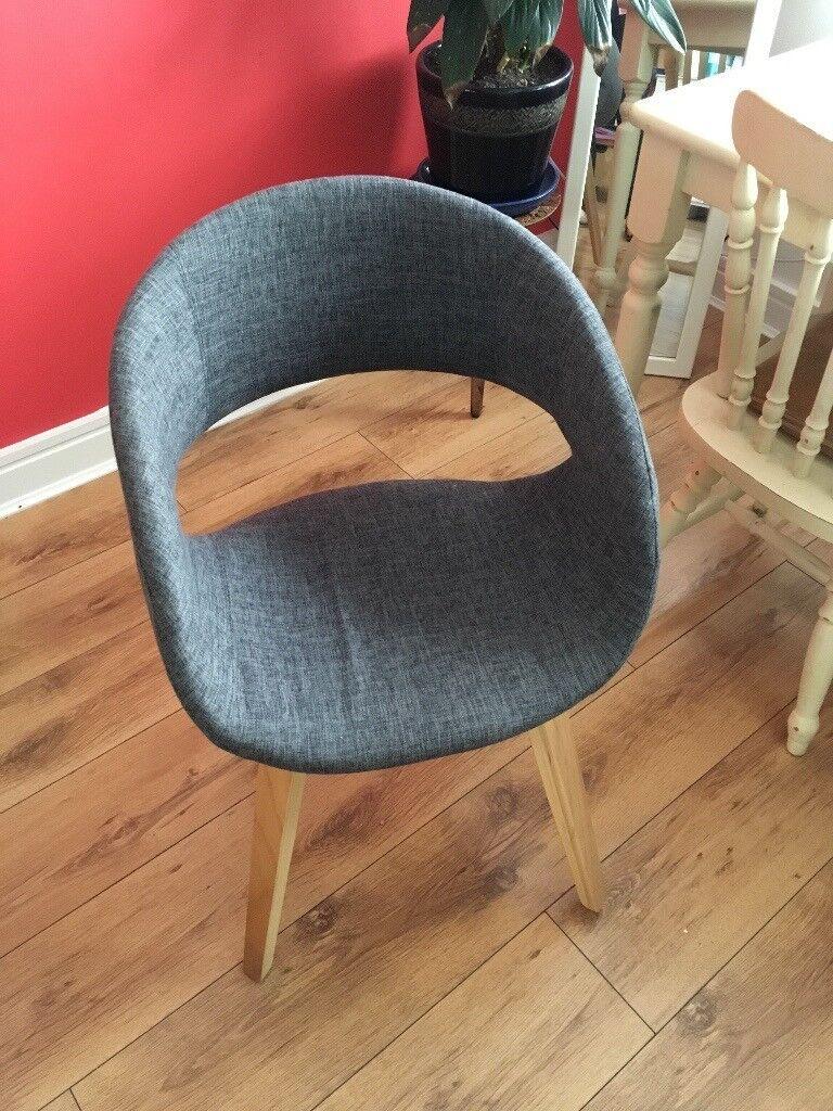 Futon Company Desk Chair Grey