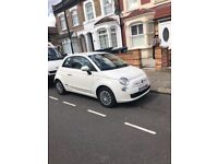 Lovely fiat 500 for sale. Only 3 female previous owners. Ideal for first time buyers