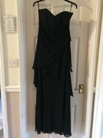 Maxi strapless dress