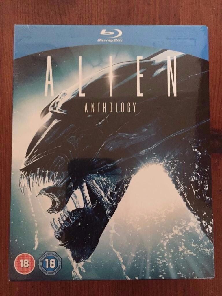 Alien Anthology Blu-Ray Brand New & Sealed