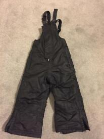 Waterproof padded dungarees 18-24 Months