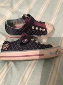 Skechers twinkle toes size 12