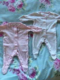 Girls 0-3 month NEXT bundle