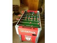 Liverpool Football Table