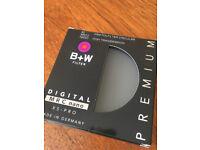 B+W KSM Polarising Camera filter MRC nano XS-PRO 82mm in Mint condition