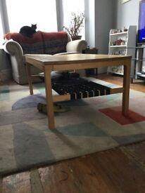 Beautiful Ikea coffee table ( c 1992)