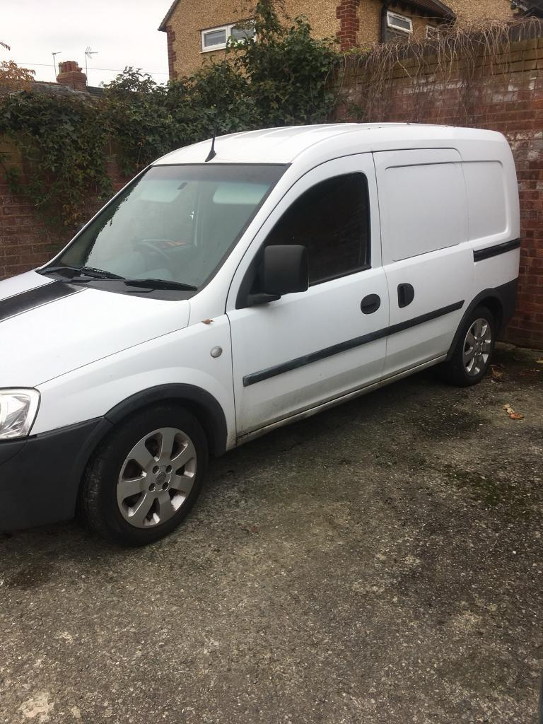Vauxhall combo 1.3 spares or repair has 10 months m o t