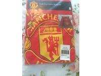 Manchester United double bedding