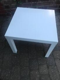 Ikea Lack white side/coffee table