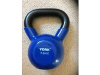 7.5 kg York kettlebell for sale