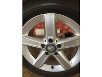 Mercedes Tyres and Wheels