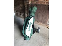 Golf Clubs ,bag and trolley