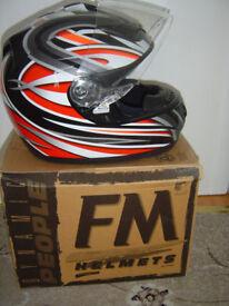 New Italien MotorBike Helmet size M