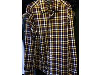 Men's GAP checked shirt size S