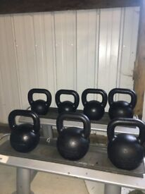 *PRICE DROP* Eleiko Kettlebell Set with Stand - Weights Kettlebells Crossfit Gym