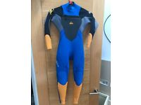 Quiksilver Syncro Hyperstretch 3-2mm Wetsuit Age 8