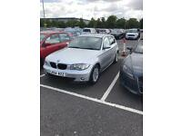 BMW 1 Series 1.6 - silver/ petrol £1800