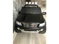 Ford ranger electric ride on car/jeep
