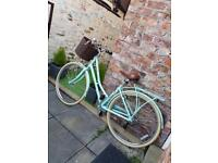 Pendleton Mint Green Somerby Bike with Basket 17""