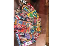Over 50 gaming magazines