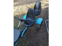 Childrens go kart 2 seater