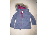 Girls FatFace Coat - 8-9 years - excellent condition
