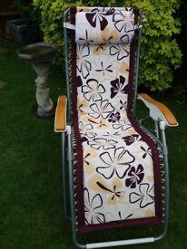 Luxury John Lewis garden lounger