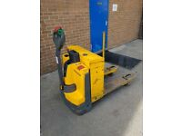 JUNGHEINRICH EJE120 ELECTRIC PALLET TRUCK AND CHARGER
