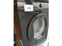 ****WITH GUARANTEE*****BLACK VENTED DRIER