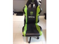 Monster Energy Bucket Gaming Chair
