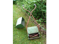 Vintage Manual Lawn Mower