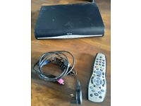 Sky+HD Box, Cables and remote