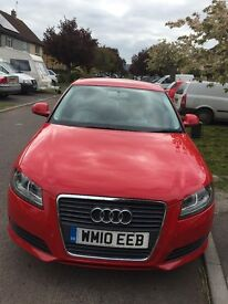 Smart Audi A3. Alloys, tinted windows, air con. Etc..