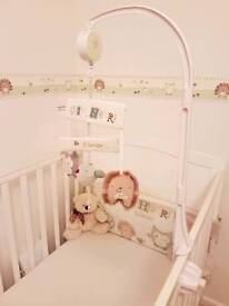 Olive and henri cot mobile and bracket