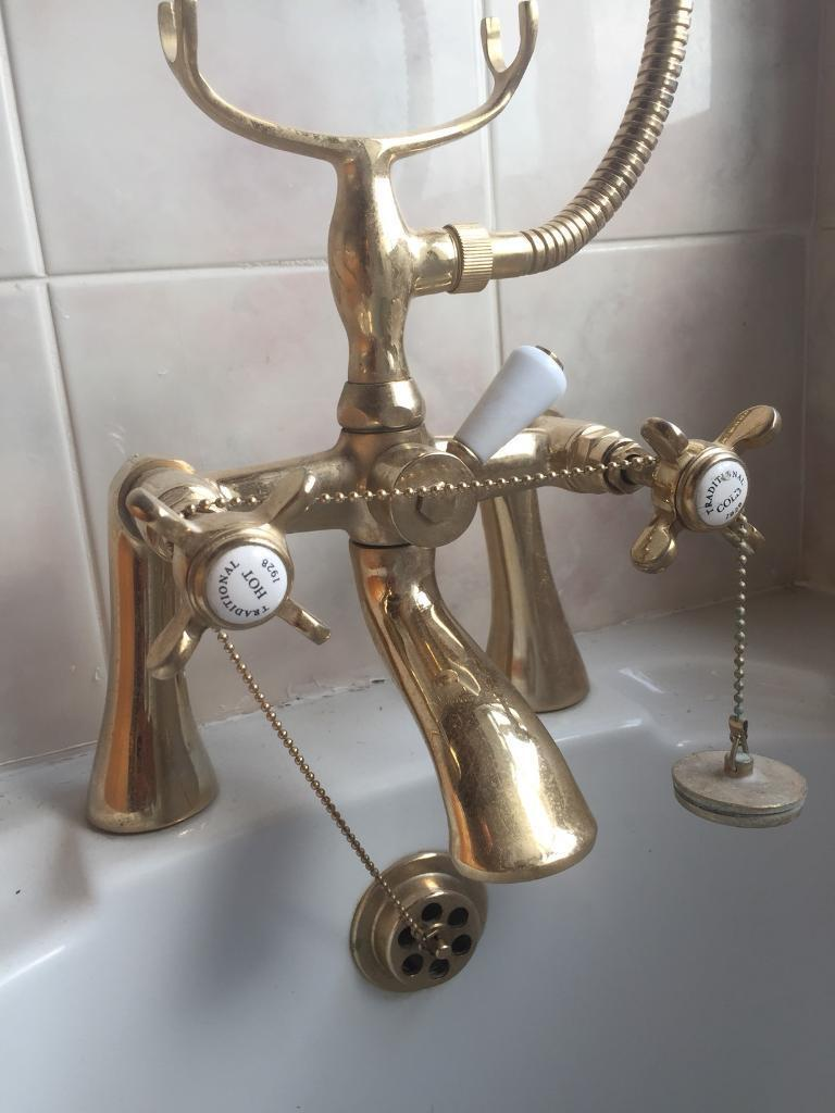Lovely antique bath mixer taps | in Trafford, Manchester | Gumtree