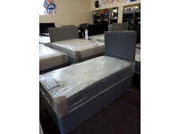 New Childrens / Toddler Divan Bed Set 2'6 x 5'3 inc headboard, free local delivery