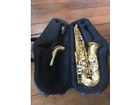 Trevor James Classic II Alto Saxaphone, with case and accessories