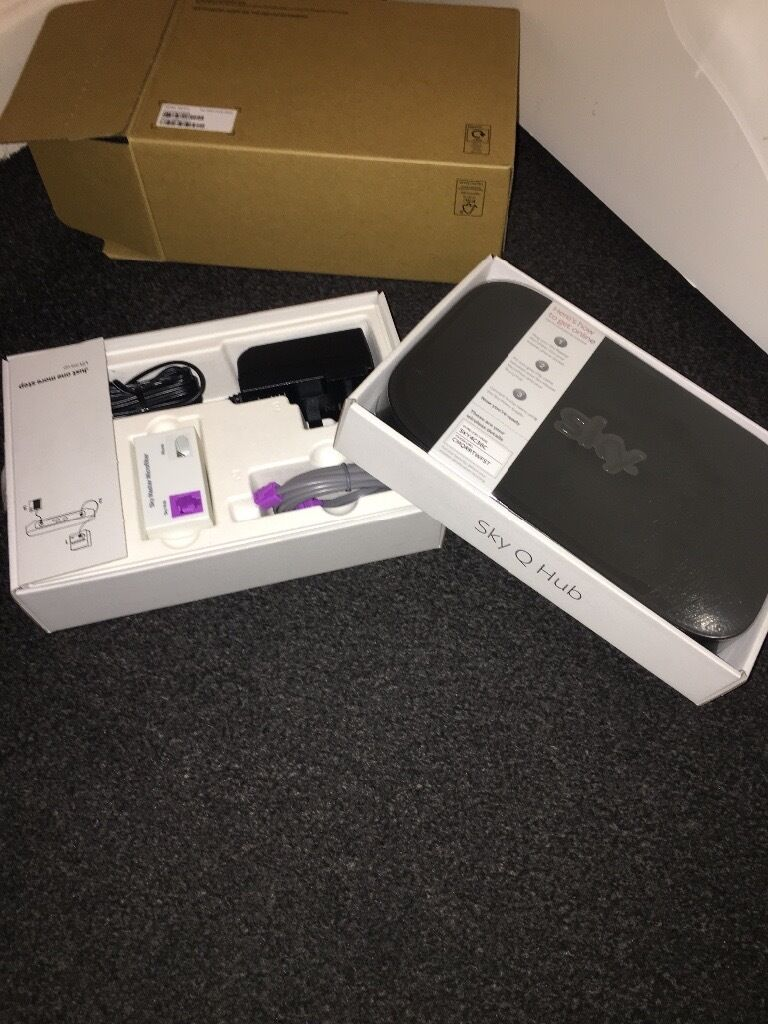 Sky boxsky Q routerin Plymouth, DevonGumtree - Sky HD recording box and brand new still in box Sky Q hub wifi router