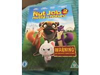 DVD the nut job 2 and 3 more