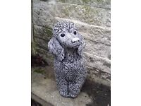 Variety of Unique Garden statues - Poodle, Pig, Cats, Fish & more. Make me an offer!