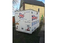 Catering trailer/burger van