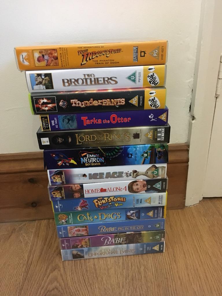 Job Lot of children's VHS Videos - free