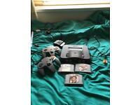 N64 + 2 controllers + 3 games