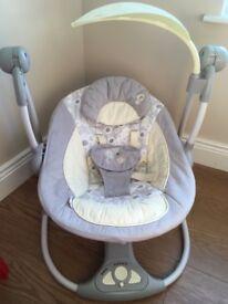 Bright starts baby swing £20